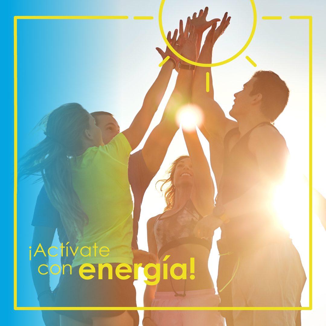 Actívate con energía